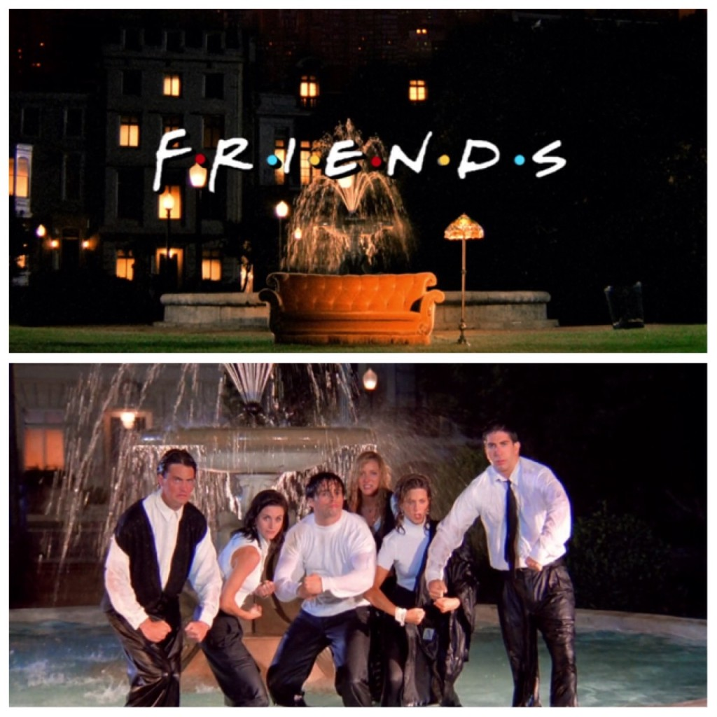 Friends from Netflix © Warner Bros. Television 1994-2004.