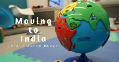 《ご報告!》日本育ちインドハーフ、インドに引っ越します!